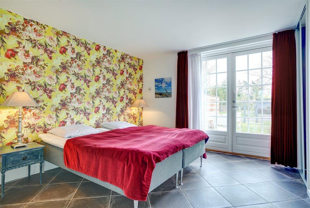 ferielejlighed soveværelse med seng